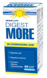 Renew Life DigestMORE HCI (90 veg caps)