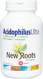New Roots Acidophilus Ultra (60 caps)