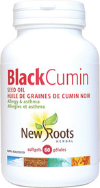 New Roots Black Cumin Seed Oil (60 softgels)