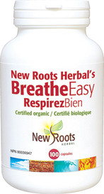 New Roots Breathe Easy 650mg (100 caps)