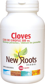 New Roots Cloves 500mg (100 caps)