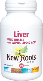 New Roots Liver Milk Thistle (90 caps)