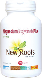 New Roots Magnesium Bisglycinate Plus 150mg (120 caps)