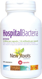 New Roots Hospital Bacteria Defense 10 Billion (30 caps)