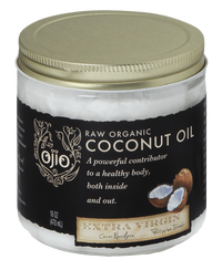 Ojio Raw Organic Extra Virgin Coconut Oil (470 mL)