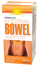 Renew Life Intestinal Bowel Support (60 veg caps)