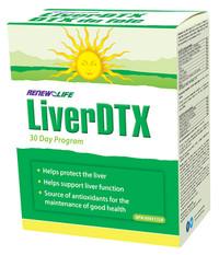 Renew Life LiverDTX (30 day detox)