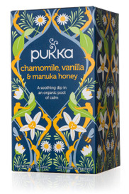 Pukka Chamomile, Vanilla & Manuka Honey (20 tea bags)
