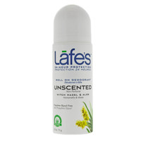 Lafes Natural Deodorant Roll-On Unscented (71 g)