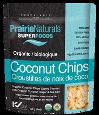 Prairie Naturals Superfoods Organic Coconut Chips Regular (60 g)