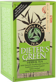 Triple Leaf Tea Dieter's Green (20 tea bags)