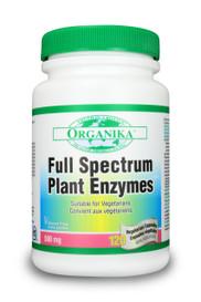 Organika Full Spectrum Plant Enzymes (120 veg caps)