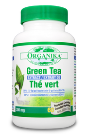 Organika Green Tea Extract (60 veg caps)