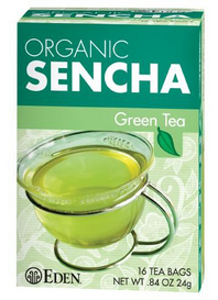 Eden Foods Organic Sencha Green Tea (16 tea bags)