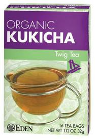 Eden Foods Organic Kukicha Twig Tea (16 tea bags)