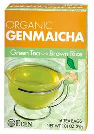 Eden Foods Organic Genmaicha Tea (16 tea bags)