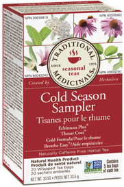 Traditional Medicinals Cold Season Sampler (20 tea bags)