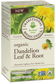 Traditional Medicinals Organic Dandelion Leaf & Root (20 tea bags)