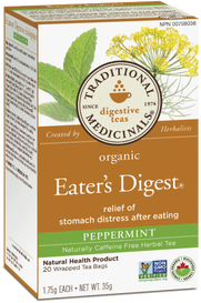 Traditional Medicinals Organic Eater's Digest Peppermint (20 tea bags)