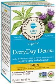 Traditional Medicinals EveryDay Detox Lemon (20 tea bags)