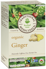 Traditional Medicinals Organic Ginger (20 tea bags)