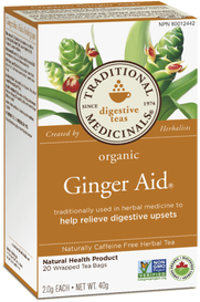 Traditional Medicinals Organic Ginger Aid (20 tea bags)