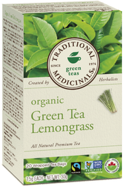 Traditional Medicinals Organic Green Tea Lemongrass (20 tea bags)