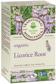 Traditional Medicinals Organic Licorice Root (20 tea bags)