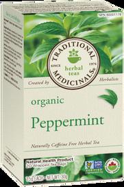 Traditional Medicinals Organic Peppermint (20 tea bags)