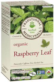 Traditional Medicinals Organic Raspberry Leaf (20 tea bags)