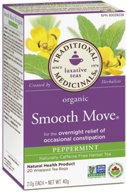 Traditional Medicinals Organic Smooth Move Peppermint (20 tea bags)