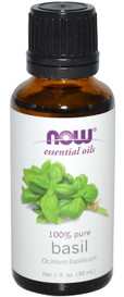 NOW Essential Oils Basil (30 mL)