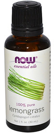 NOW Essential Oils Lemongrass (30 mL)