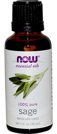 NOW Essential Oils Sage (30 mL)