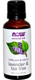 NOW Essential Oils Lavender & Tea Tree (30 mL)