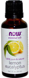 NOW Essential Oils Lemon Eucalyptus (30 mL)