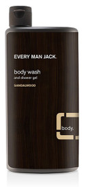 Every Man Jack Body Wash Sandalwood (500 mL)