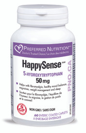 Preferred Nutrition HappySense 5HTP 50mg (60 caps)