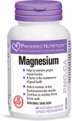 Preferred Nutrition Magnesium (60 veg caps)