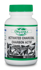 Organika Activated Charcoal (90 veg caps)