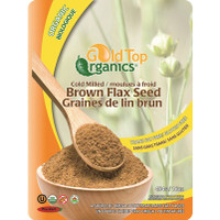 Gold Top Organics Cold Milled Brown Flax Seed (454 g)
