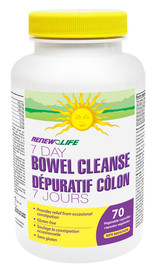 Renew Life 7 Day Bowel Cleanse (70 veg caps)