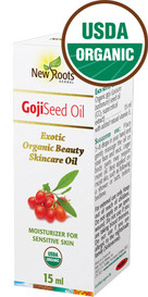 New Roots Goji Seed Oil Organic (15 mL)