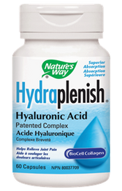 Nature's Way Hydraplenish Hyaluronic Acid (60 veg caps)
