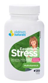 Platinum Naturals Easymulti Stress for Women (120 softgels)