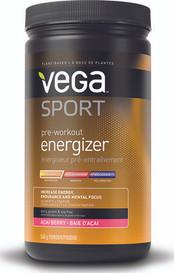 Vega Sport Pre Workout Energizer Acai Berry (540 g)