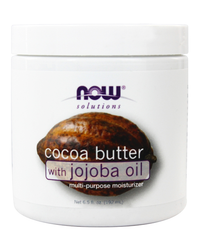 NOW Cocoa Butter with Jojoba Oil (184 g)