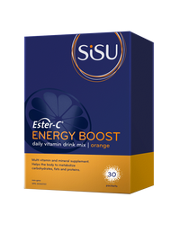 SISU Ester-C Energy Boost Orange (30 packets)
