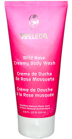 Weleda Creamy Body Wash Wild Rose (200 mL)