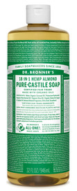 Dr.Bronners Castile Liquid Soap Almond (32 oz)